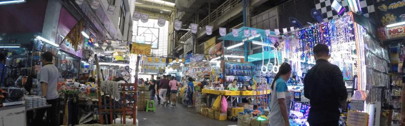 クロントム市場@バンコク