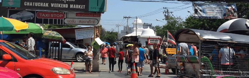 チャトゥチャック市場@バンコク