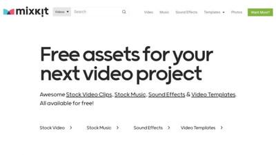 mixkit|動画素材