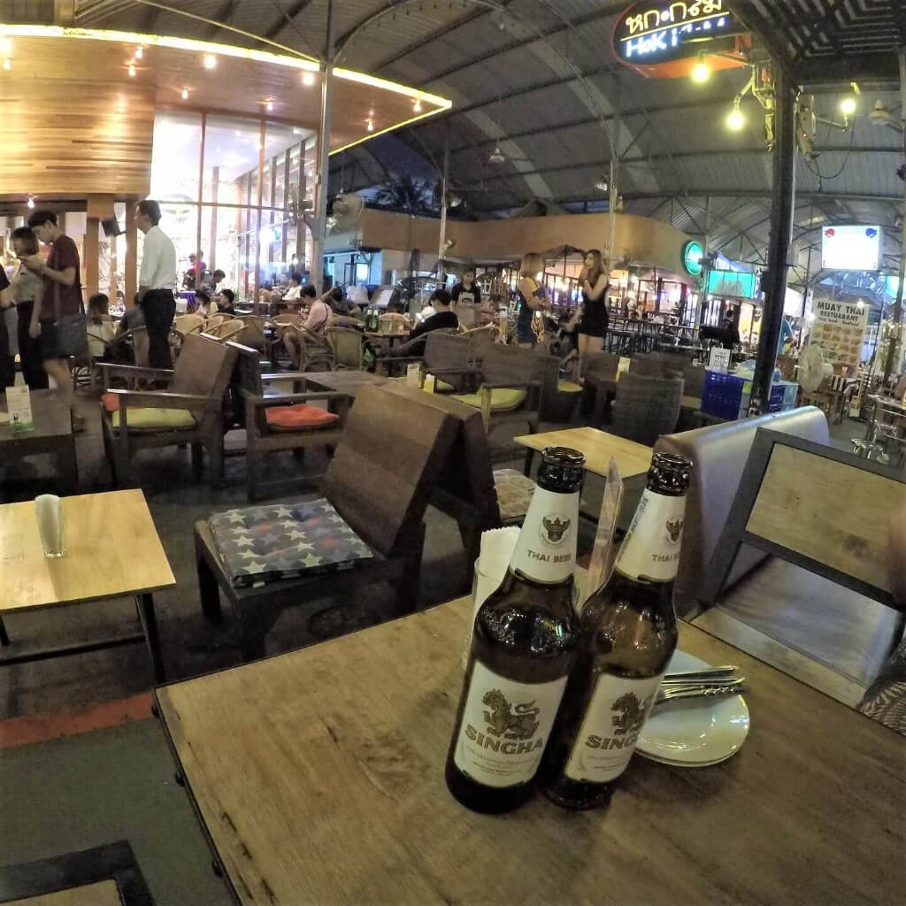 バンコクの居酒屋