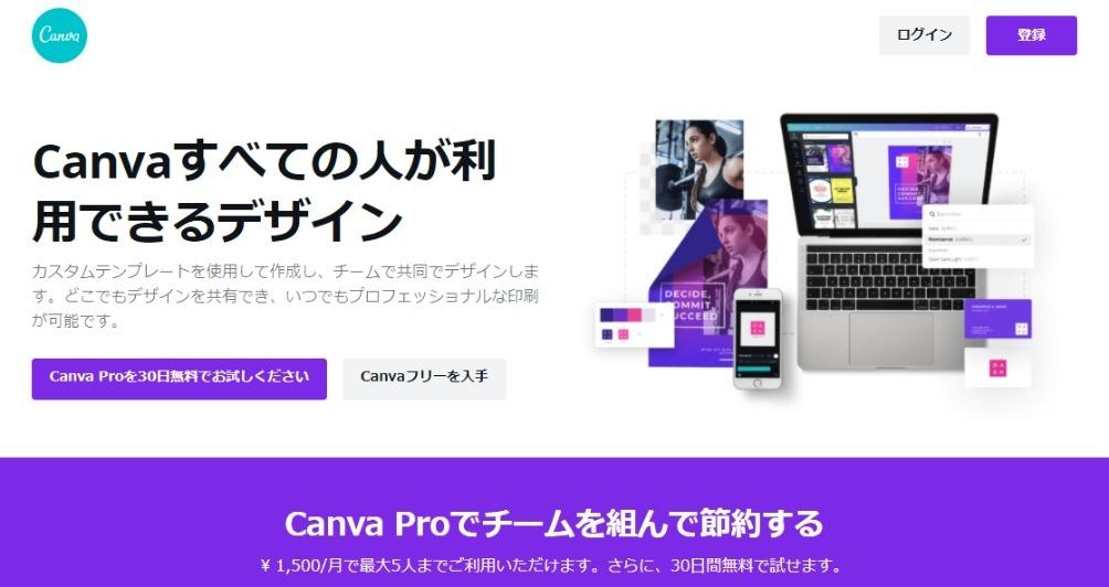 Canva(バナー作成など)